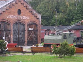 Photo: Dawna lokomotywownia kolei Gliwice Trynek - Rudy - Racibórz.