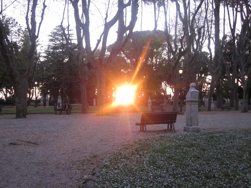 Tramonto a Villa Borghese di emanuela_dolci