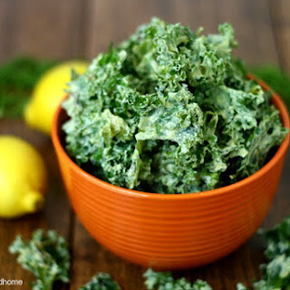 Lemon Dill Kale Chips (Raw, Vegan, Gluten-Free, Dairy-Free, Paleo-Friendly) Recipe