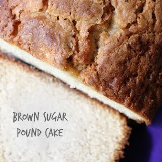 Cold Oven Brown Sugar Pound Cake
