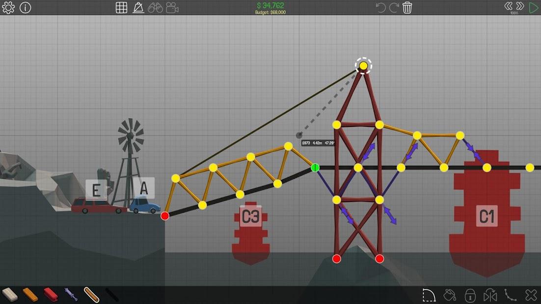 Poly Bridge Android App Screenshot