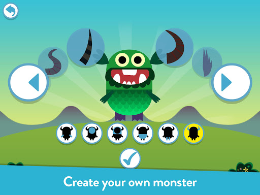 Teach Your Monster to Read - Phonics and Reading app for Android screenshot