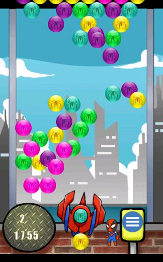 玩街機App|蜘蛛VS精靈泡泡龍免費|APP試玩
