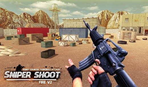 Army Counter Terrorist Attack Sniper Shoot Fire V2 7