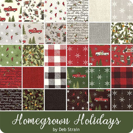 Charmpack Homegrown Holidays (16395)