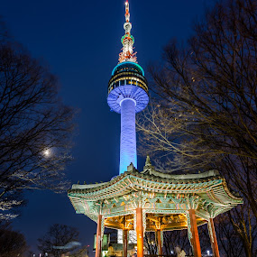 Seoul Tower by Mann Renzef - Buildings & Architecture Public & Historical ( seoul,  )