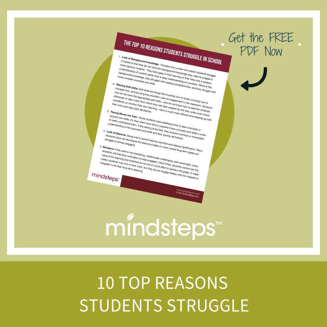 10 Top Reasons Students Struggle