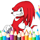 Coloring Book For Sonic 2020 Hedgehog's Page