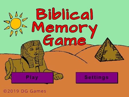 Biblical Memory Game - náhled