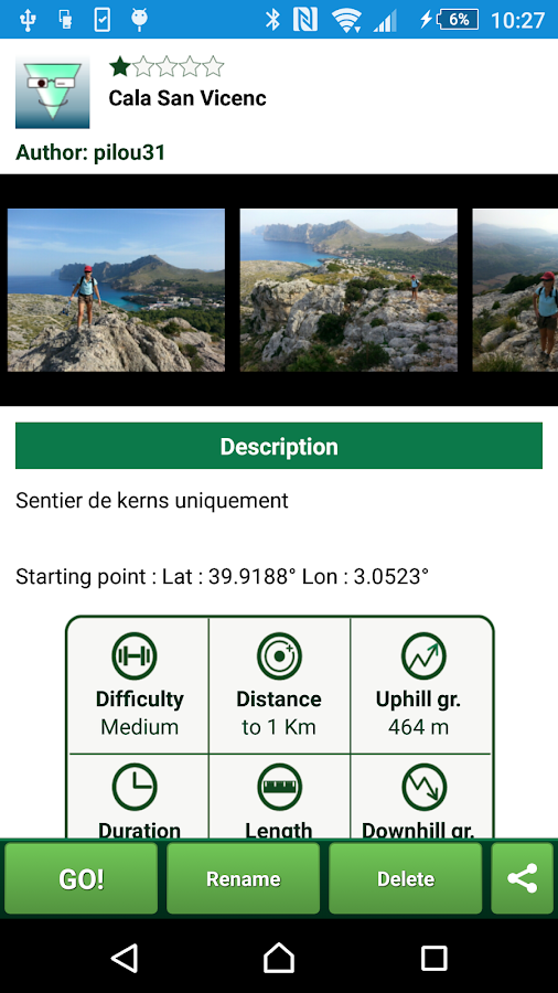 SityTrail Spain - hiking GPS- screenshot