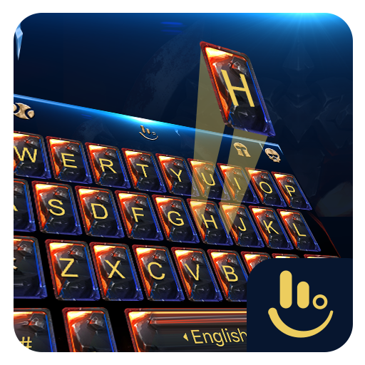 Fire Crystal Throne Keyboard Theme