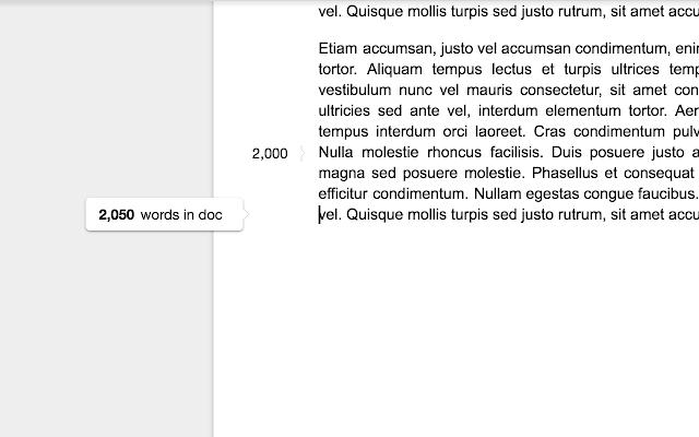 Wordcounter Screenshot