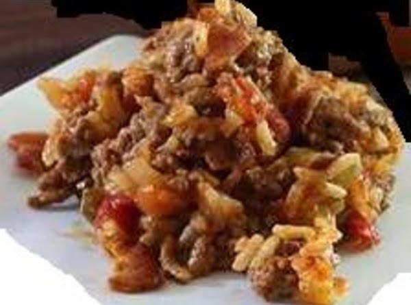 Spanish Rice With Beef Recipe