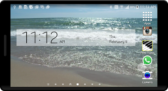 Seashore HD Live Wallpaper screenshot 1