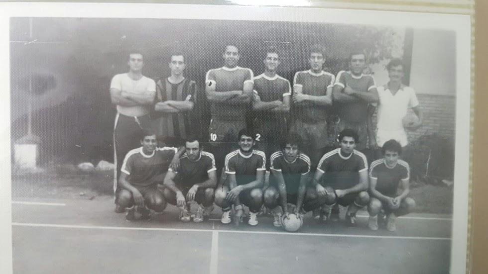 Los niños del Colegio Europa en la Liga 1978-79.
