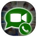 Video Call for ⱲhạtsAp prank icon