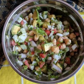 Chickpeas Salad.