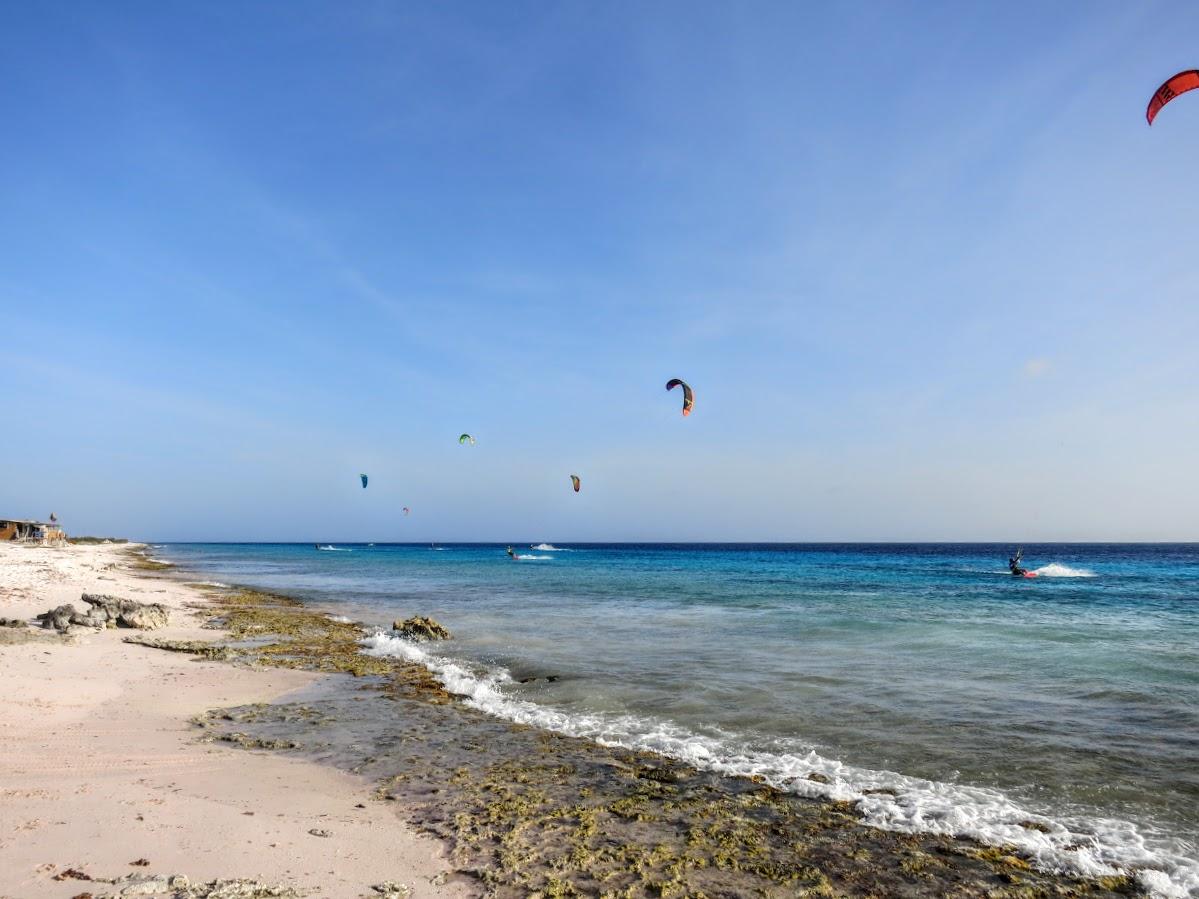 Bonaire. Atlantis Beach. Kitesurfing Spot