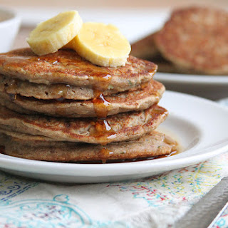 Zucchini Bread Protein Pancakes