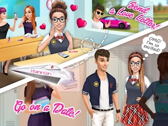 Hannah's College Crush - First Date & Love Story APK screenshot thumbnail 21