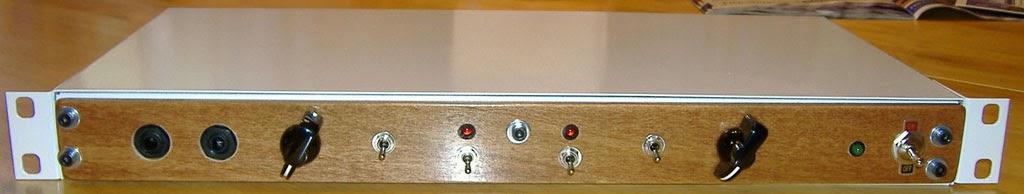Photo: #37 - custom oak face. Dual channel from talkback modules