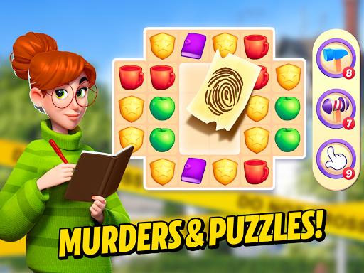 Small Town Murders: Match 3 Crime Mystery Stories apkdebit screenshots 9