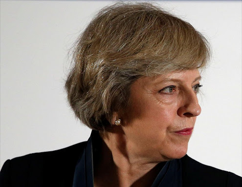 Theresa May. Picture: REUTERS