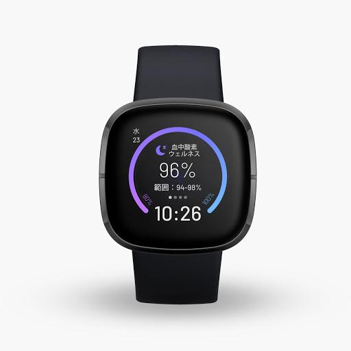 Fitbit Sense(カーボン / グラファイト ステンレス スチール)