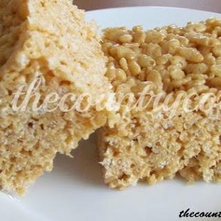 Peanut Butter Marshmallow Rice Krispie Treats Recipes