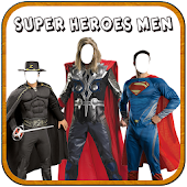 Superhero Man Photo Suit