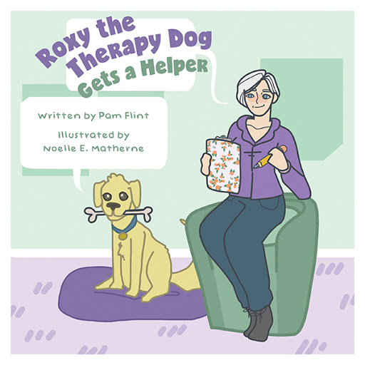 Roxy The Therapy Dog Gets a Helper cover