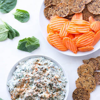 Creamy Greek Yogurt Spinach Dip