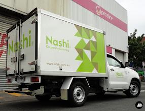 Photo: Nashi Food Truck No. 2 #partialvehiclewrap #foodtruckbranding #vehiclebranding #nashi