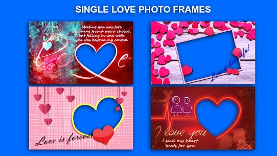 Romantic Love Photo Frames Apk 3