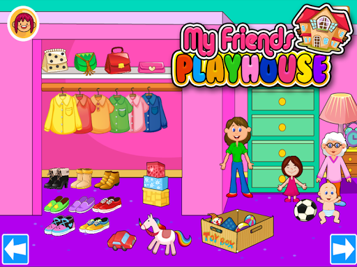 My Pretend House - Kids Family & Dollhouse Games app (apk) free download for Android/PC/Windows screenshot
