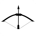 Archery Black Icon