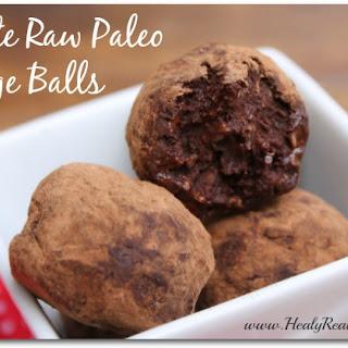 5 Minute Raw Paleo Fudge Balls.