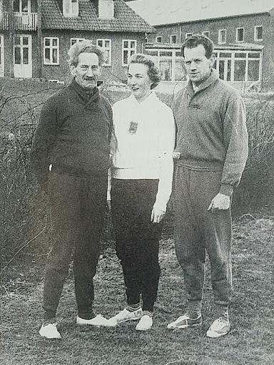 Birte Christensen (datter) og Svend Aage Thomsen og Ole Christian Thomsen