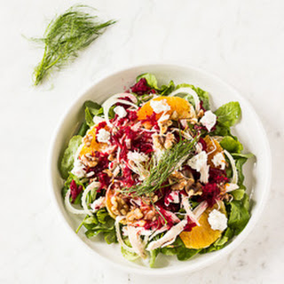 Chicken and Orange Arugula Salad