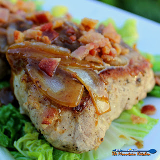Pan Seared Pork Chops With Dijon Bacon Vinaigrette