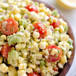 Cilantro Quinoa Corn Salad