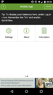 UCU Mobile Banking App- screenshot thumbnail