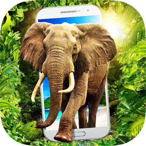 Elephant in Phone Prank Icon