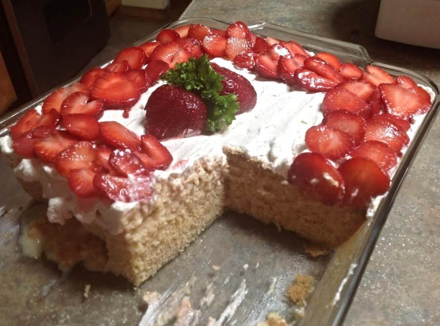 strawberry tres leches cake cook s country tres leches cake wstrawberries recipe 7777
