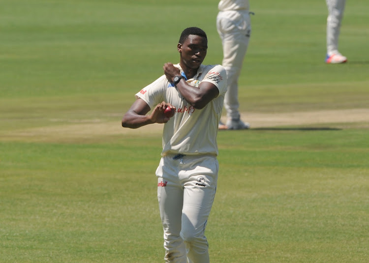 Lungi Ngidi of Titans. File photo.