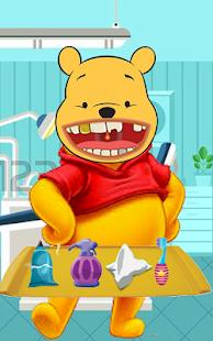 Winnie the pooh dentist game - náhled