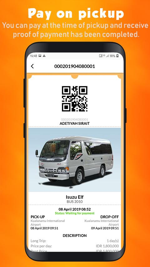 Скриншот Boocar - Booking Car Indonesia