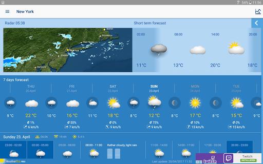 WeatherPro Free  screenshots 6