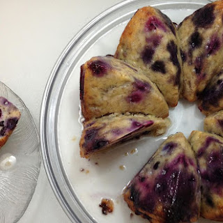 Scrumptious Blueberry Banana Cake Recipe