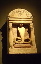 Photo: Snakes were considered holy in ancient Egypt .......... De slang werd als heilig beschouwd in het oude Egypte.